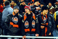 Shakhtar team supporters Stock Photos