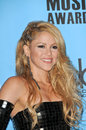 Shakira at the american music awards press room nokia theater los angeles ca Royalty Free Stock Image
