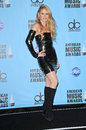 Shakira at the american music awards press room nokia theater los angeles ca Royalty Free Stock Photo