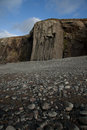 Shale buttress. Stock Images