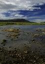 Shallow river Royalty Free Stock Photo