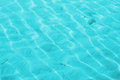 Shallow water turquoise with little waves Royalty Free Stock Photography