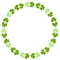 Shamrock Border Royalty Free Stock Image
