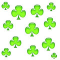 Shamrock clover design Stock Photos