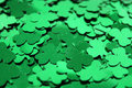 Shamrock Confetti Royalty Free Stock Photography