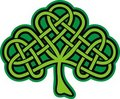 Shamrock. Ornate Celtic Tattoo