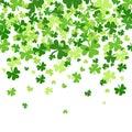 Shamrock Pattern Background Saint Patrick Day Beer Festival Banner