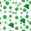 Shamrock Seamless Border Royalty Free Stock Image