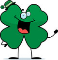 Shamrock Waving Royalty Free Stock Photo