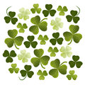 Shamrocks background Royalty Free Stock Photos