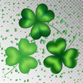 Shamrocks on a transparent background