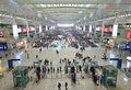 Shanghai hongqiao railway station located in minhang district of is a major part of the comprehensive Stock Photography