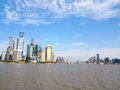 Shanghai,huangpu river Royalty Free Stock Photography