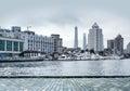 Shanghai Huangpu River Royalty Free Stock Photo