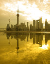Shanghai morning Royalty Free Stock Image