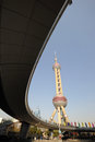 Shanghai oriental pearl tv tower Stock Images