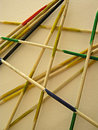 Shanghai pick up sticks game a of Royalty Free Stock Photos
