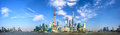 Shanghai skyline panorama Royalty Free Stock Photo