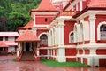 Shanta Durga Hindu temple, Goa, India Royalty Free Stock Photo