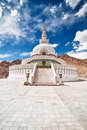 Shanti Stupa Royalty Free Stock Photos