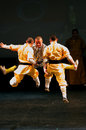 Shaolin Temple of China performs in Bahrain, 2012 Royalty Free Stock Photography