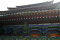 The Shaolin Temple Chinese Architectural Style Eaves