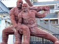 Shaolin Temple Kungfu Sculpture
