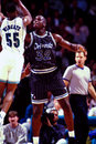 Shaquille o neal orlando magic star center image taken from color slide Royalty Free Stock Images