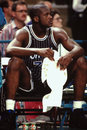 Shaquille o neal orlando magic star center image taken from color slide Stock Image