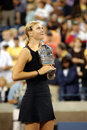 Sharapova Maria USOPEN Cup 146 Stock Photos