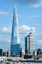 The shard in london renzo piano new skyscraper on april story standing at meters feet is tallest building western Royalty Free Stock Photos