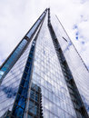 The shard in london an storey skyscraper office building near bridge england Stock Photography