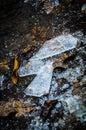 Shards of ice Royalty Free Stock Photo