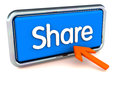 Share online concept