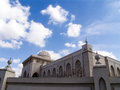 Sharjah diwan al amiri office and cloudy blue sky Stock Photography