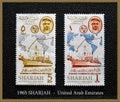 Sharjah i t u telecommunications zjednoczone emiraty arabskie Fotografia Stock