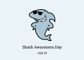 Shark Awareness Day vector