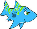 Shark Vector Illustration Royalty Free Stock Photo