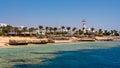 Sharm el sheikh egypt coast of as seen from the sea Stock Photos