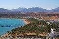 Sharm el sheikh view of tourist zone in egypt Stock Photos