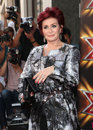 Sharon osbourne arriving for the x factor launch london picture by alexandra glen featureflash Stock Photo
