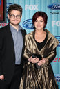 Sharon Osbourne,Jack  Osbourne Stock Photography