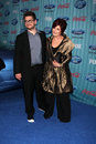 Sharon osbourne jack osbourne arriving at the american idol top party at area in los angeles ca on march Royalty Free Stock Image