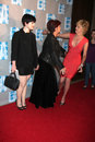 Sharon Osbourne,Sharon Stone,Kelly Osbourne Stock Image