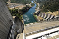 Shasta Hydro Dam and Spillway, USA Royalty Free Stock Photo