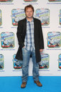 Shaun dooley arriving for thomas friends blue mountain mystery premiere held at the vue cinema london picture by henry harris Royalty Free Stock Image