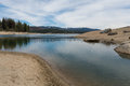 Shaver Lake shoreline Royalty Free Stock Photo