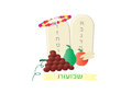 Shavuot Jewish Holiday card