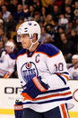 Shawn Horcoff Edmonton Oilers Royalty Free Stock Photo