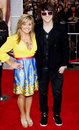 Shawn Johnson and Mitchell Musso Royalty Free Stock Photo